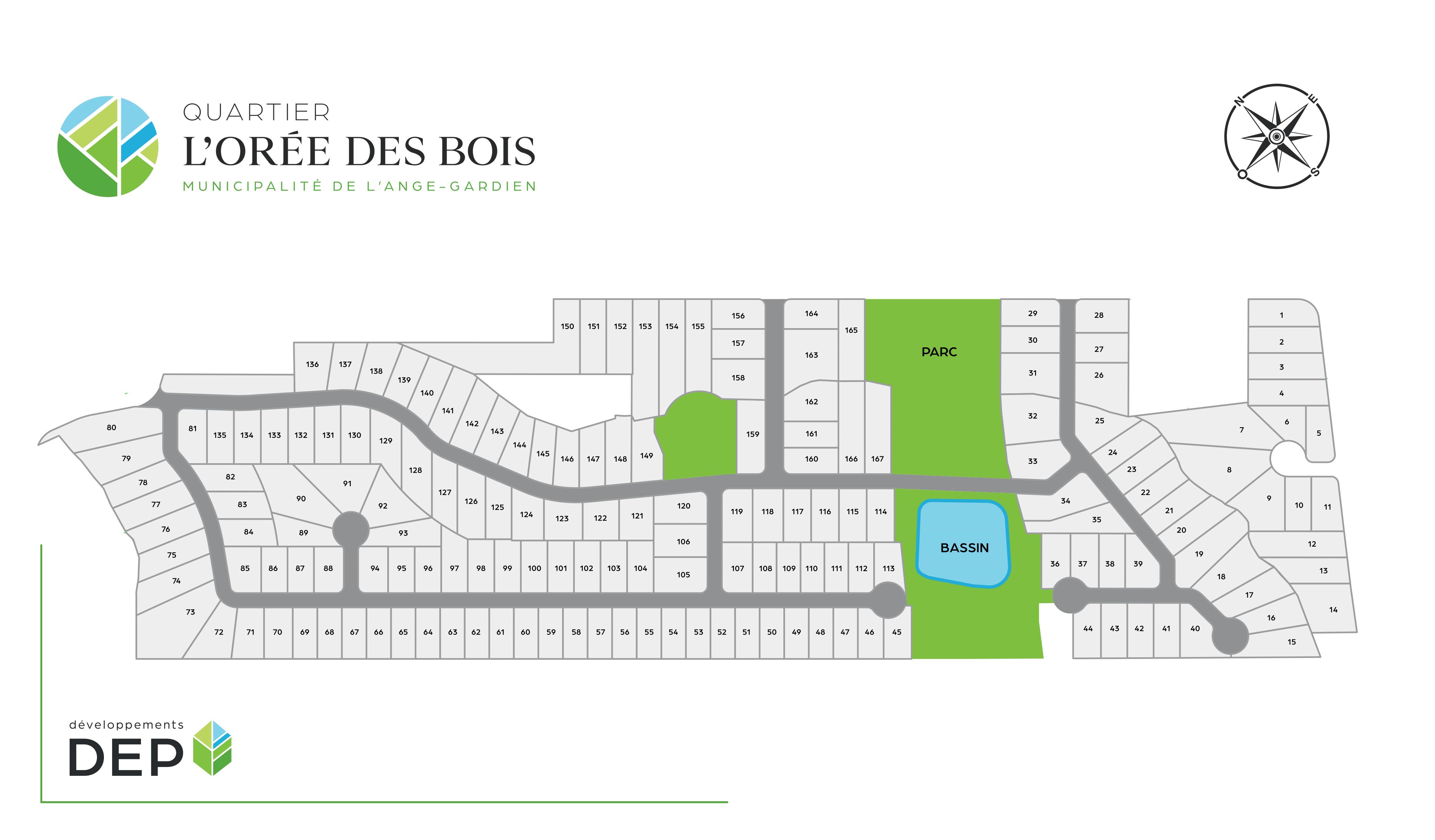 Plan de lotissement OREE DES BOIS-V1-1